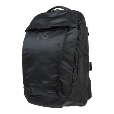 ワイスリー Y-3 バックパック&ヒップバッグ ブラック ナイロン 100% バックパック&ヒップバッグ