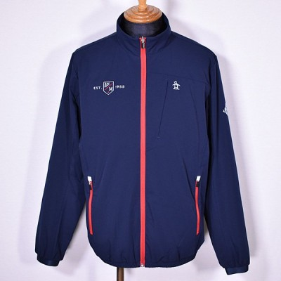 マンシングウェア Munsingwear メンズ スタンドストレッチウインドブレーカー ブルゾン 3L有 ゴルフウェア 通常販売価格:22000円