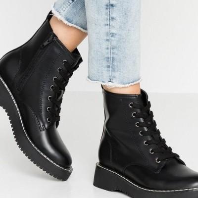 マッデンガール レディース 靴 シューズ KURRT - Platform ankle boots - black paris