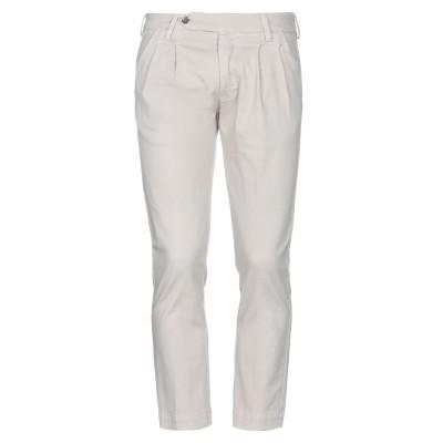 アントレ アミ ENTRE AMIS パンツ ライトグレー 31 コットン 97% / ポリウレタン 3% パンツ