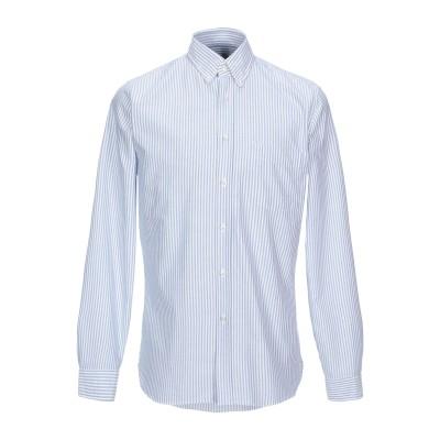 XACUS シャツ スカイブルー L コットン 100% シャツ