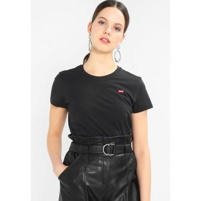 リーバイス Tシャツ レディース トップス PERFECT TEE - Basic T-shirt - black