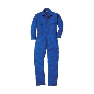 桑和(SOWA) 続服 8/ブルー 3Lサイズ 9800 作業着 作業服 ワークウェア ウエア つなぎ メンズ