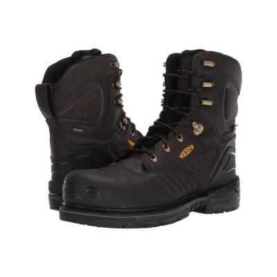 キーン Keen Utility メンズ ブーツ シューズ・靴 Philadelphia 8' Waterproof Carbon-Fiber Toe Cascade Brown/Black