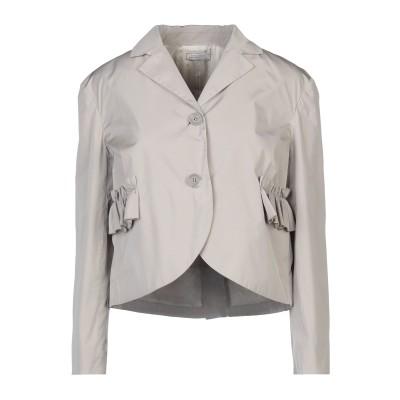 NINA RICCI テーラードジャケット ライトグレー 34 ポリエステル 100% テーラードジャケット