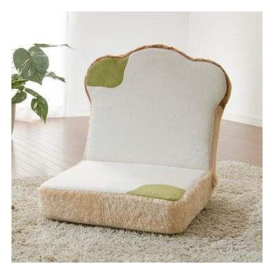 座椅子 カビ 食パン カバーリング かわいい 14段リクライニング