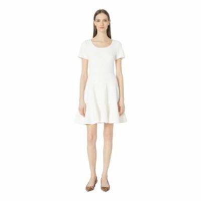 レベッカ テイラー Rebecca Taylor レディース ワンピース ワンピース・ドレス Short Sleeve Stretch Texture Dress Snow