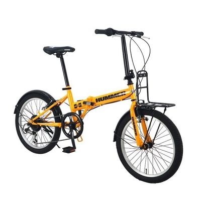 HUMMERハマー FDB206 TANK-N(組立・整備発送)折りたたみ 自転車 20インチ