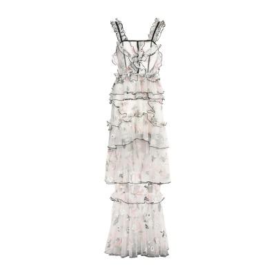 アリスマッコール ALICE McCALL ロングワンピース&ドレス ベージュ 6 ポリエステル 100% / ナイロン ロングワンピース&ドレス