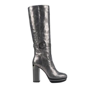 ホーガン HOGAN ブーツ 鉛色 40.5 革 ブーツ