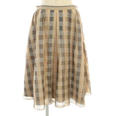 フォクシーブティック スカート 39706 Skirt チェック 40