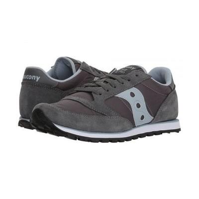 Saucony Originals サッカニー レディース 女性用 シューズ 靴 スニーカー 運動靴 Jazz Low Pro - Grey/Blue