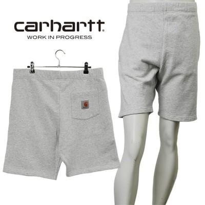 カーハート ダブリューアイピー Carhartt WIP スウェットハーフパンツ I027698-4820_ASH_HEATHER