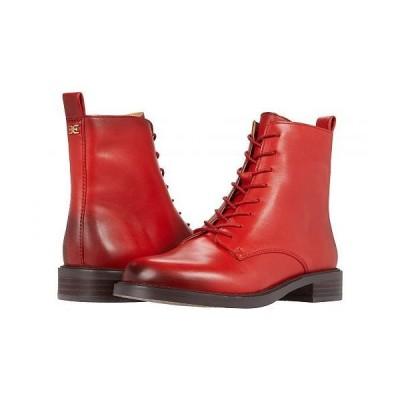 Sam Edelman サムエデルマン レディース 女性用 シューズ 靴 ブーツ レースアップ 編み上げ Nina - Candy Red