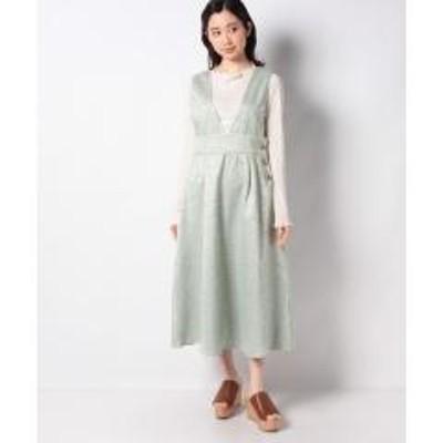 グリーンパークス・ELENCARE DUE ツィードジャンパースカート
