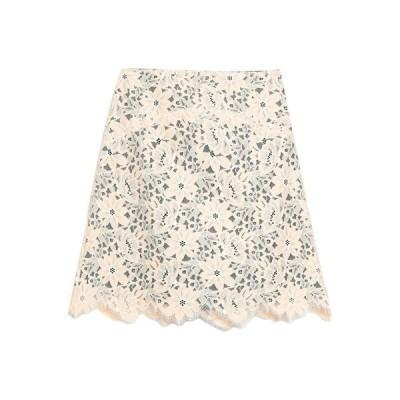 SANDRO ミニスカート  レディースファッション  ボトムス  スカート  ロング、マキシ丈スカート サンド