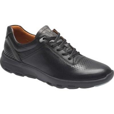 ロックポート レディース スニーカー シューズ Let's Walk Ubal Sneaker Black Leather