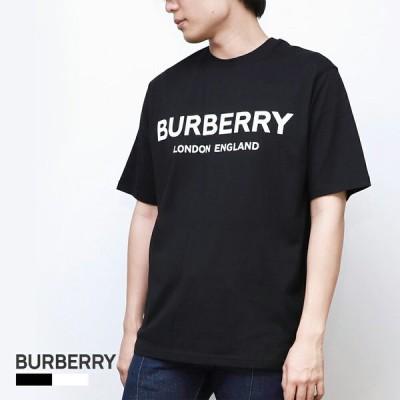 バーバリー BURBERRY LETCHFORD TAV メンズ トップス Tシャツ - ロゴプリント コットン ブランド 802601