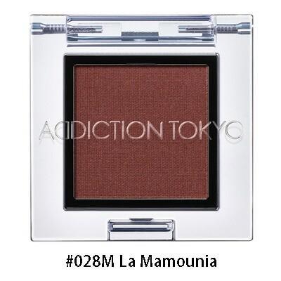 アディクション ADDICTION ザアイシャドウマット #028M La Mamounia 1g【3cm・ゆうパケット対応可能商品 ※注意事項のご確認必須です】