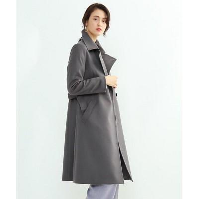 <INDIVI(Women)/インディヴィ> カシミヤステンカラーコート グレー014【三越伊勢丹/公式】