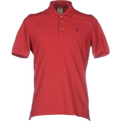 アッカ ノーヴェチンクエトレ H953 メンズ ポロシャツ トップス Polo Shirt Red