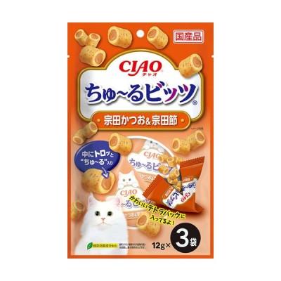 いなば ちゅ〜るビッツ 宗田かつお&宗田節 12g×3袋