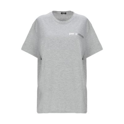 アスペジ ASPESI T シャツ グレー L コットン 65% / ポリエステル 35% T シャツ