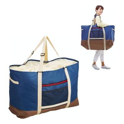 COGIT(コジット)/大型ランドリーでのまとめ洗いに!巾着袋付きドデカボストンバッグ N52446