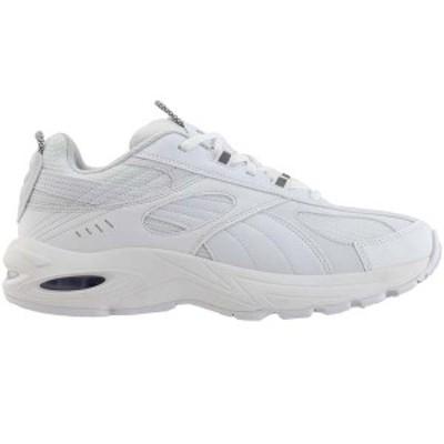 プーマ メンズ スニーカー シューズ CELL Speed Reflective Lace Up Sneakers Puma White / Puma White