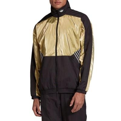 アディダスオリジナルス メンズ ジャケット&ブルゾン アウター Tolima-02 Track Jacket BLACK/GOLD