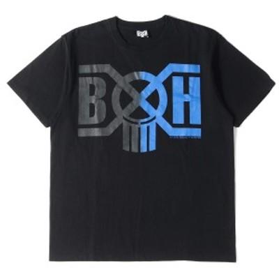 BOUNTY HUNTER バウンティーハンター Tシャツ グラデーション ロゴ ヘビーTシャツ ブラック M 【メンズ】【中古】【美品】【K2742】