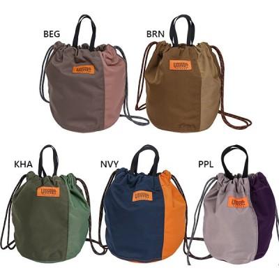 ユニバーサルオーバーオール メンズ レディース ナイロンツイルパッチ巾着 バッグ ポーチ 鞄 UVO-032