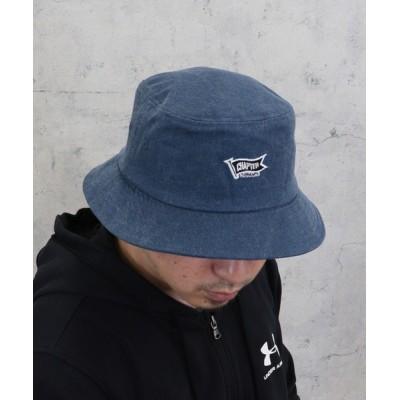 kana / コットン100% ウォッシ加工 無地のバケットハット MEN 帽子 > ハット