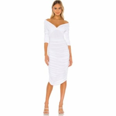 ノーマ カマリ Norma Kamali レディース ワンピース ワンピース・ドレス Tara Dress White