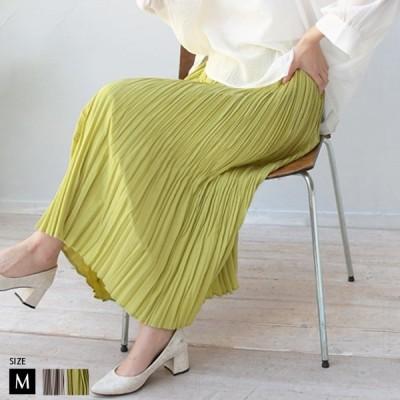 スカート(WQN3763)  レディース ランダムプリーツスカート Hunch