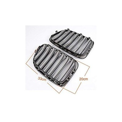 Front Kindey Radiator Grille Grill For BMW E84 X1 2010-2014 2012 Gloss
