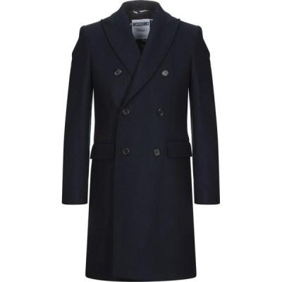 モスキーノ MOSCHINO メンズ コート アウター Coat Dark blue