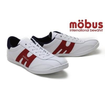 モーブス / mobus メンズ スニーカー m-2101t whrd ニューミュンスター ホワイトレッド