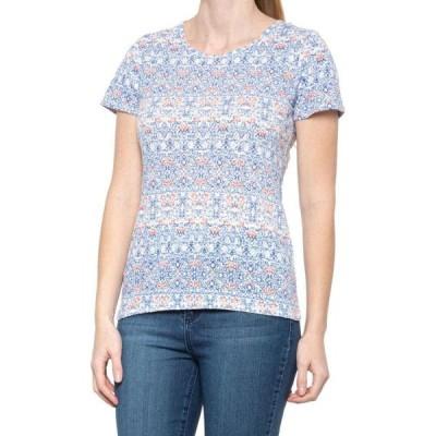 ノースリバー North River レディース ブラウス・シャツ トップス printed burnout shirt - short sleeve Mist