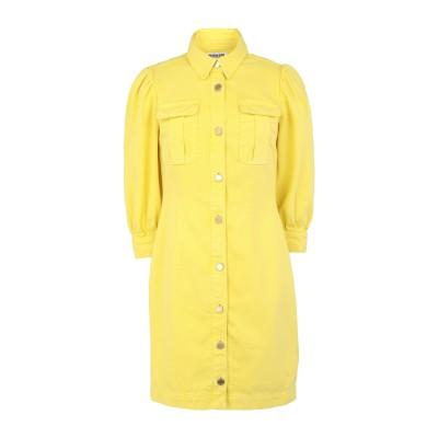 エッセンシャル・アントワープ ESSENTIEL ANTWERP ミニワンピース&ドレス イエロー 36 コットン 100% ミニワンピース&ドレス