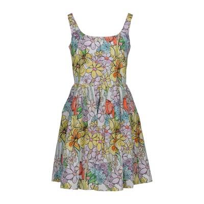 モスキーノ MOSCHINO ミニワンピース&ドレス ホワイト 40 シルク 55% / コットン 45% ミニワンピース&ドレス