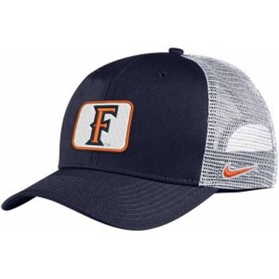 ナイキ メンズ 帽子 アクセサリー Nike Men's Cal State Fullerton Titans Navy Blue Classic99 Trucker Hat
