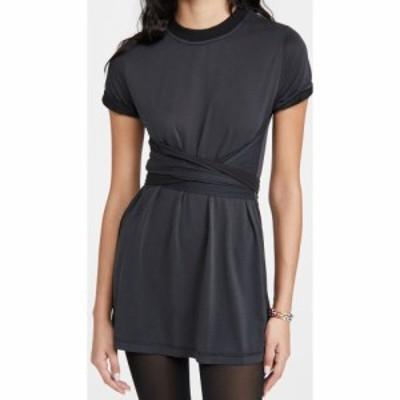 アリス アンド オリビア alice + olivia レディース ワンピース ワンピース・ドレス Jasset Roll Cuff Tie Back Dress Black