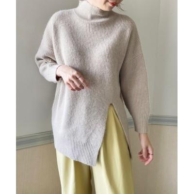 StyleSea / ハイネックフロントスリットプルオーバー WOMEN トップス > ニット/セーター