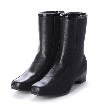 ピサ PISAZ ショートブーツ (ブラックコンビ)
