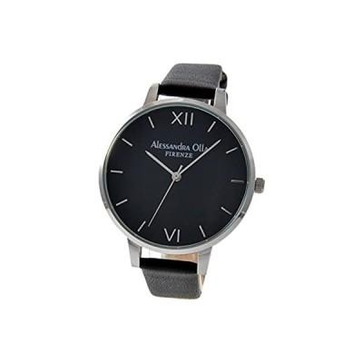 [アレサンドラオーラ] 腕時計 AO-25-3 レディース ブラック
