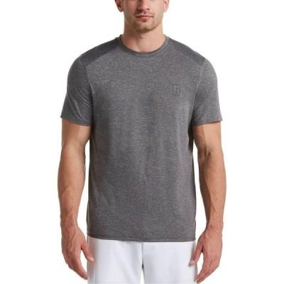 ピージーエーツアー PGA TOUR メンズ Tシャツ トップス Heathered T-Shirt Grey Heath