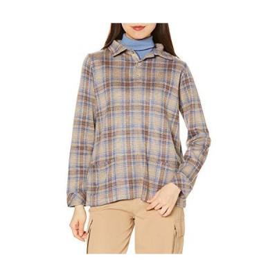 (マックレガー) McGREGOR チェックポロシャツ ベージュ Mサイズ