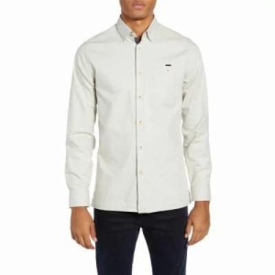 テッドベーカー シャツ Slim Fit Oxford Sport Shirt Natural
