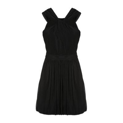 BOUTIQUE MOSCHINO ミニワンピース&ドレス ブラック 42 コットン 51% / ポリエステル 49% ミニワンピース&ドレス
